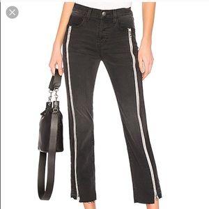 Current/Elliot black jeans with zipper size 24